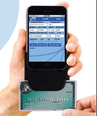 iPhone Credit Card Reader